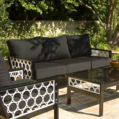 Parkview Cast Deep Seating Sofa with Cushions by Koverton