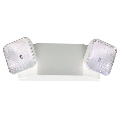 Royal Pacific Two Head Emergency Light in Black