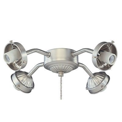 Royal Pacific 4 Light Branched Ceiling Fan Light Kit