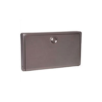 Koala Kare Products Stainless Steel Horizontal Baby Changing Station with Surface Mount