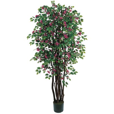 Bougainvillea Tree with Pot by Nearly Natural