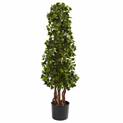 English Ivy Spiral Tree in Pot by Nearly Natural