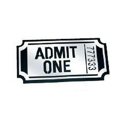Bass Ticket Wall Décor