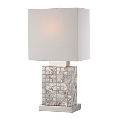 Sterling Industries Mother Of Pearl Mini 17 Quot H Table Lamp