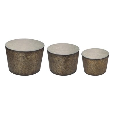 3 Piece Shaw Accent Table Set by Sterling Industries