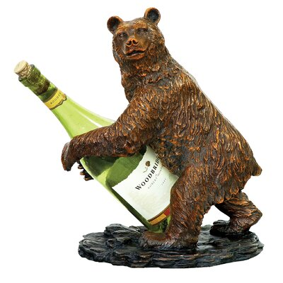 Sterling Industries Bear 1 Bottle Tabletop Wine Rack