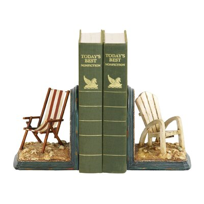 Sterling Industries Beach Chair Book Ends