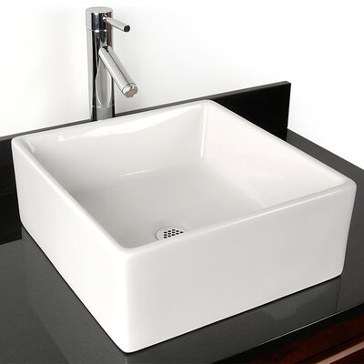 Grenada China Vessel Bathroom Sink by D'Vontz