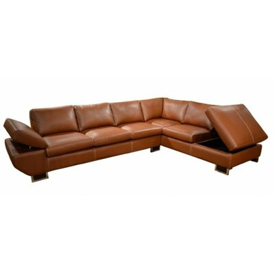 Messina Right Hand Facing Sectional by Omnia Furniture