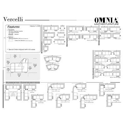 Omnia Furniture Vercelli Leather Recliner