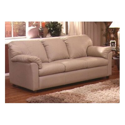 Tahoe Full Leather Sleeper Sofa by Omnia Furniture