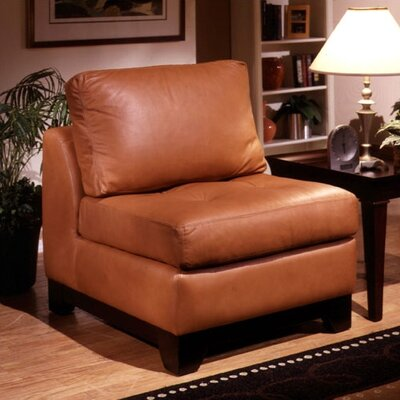 Espasio Leather Chair by Omnia Furniture