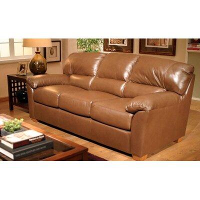 Cedar Heights 3 Seat Leather Sofa Set by Omnia Furniture