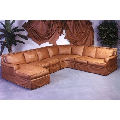 Hacienda Leather Sectional by Omnia Furniture