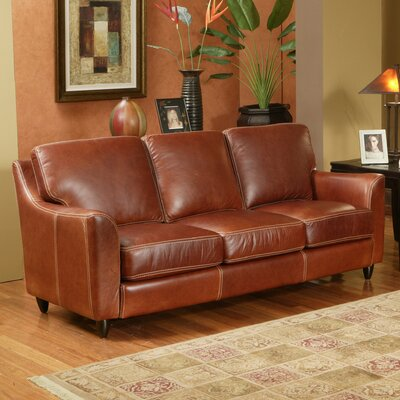 Great Texas Leather Sofa by Omnia Furniture
