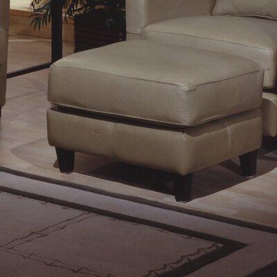 Skyline Leather Ottoman by Omnia Furniture