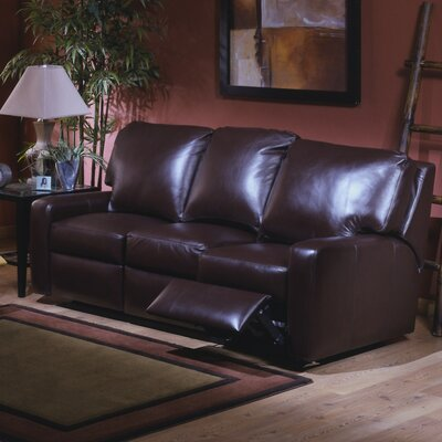 Mirage Leather Reclining Sofa by Omnia Furniture