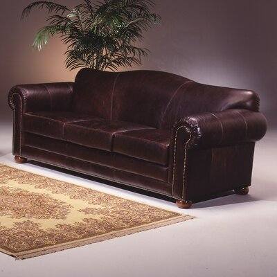 Sedona Leather Sofa by Omnia Furniture
