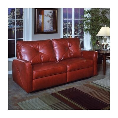 Bahama Leather Reclining Loveseat by Omnia Furniture