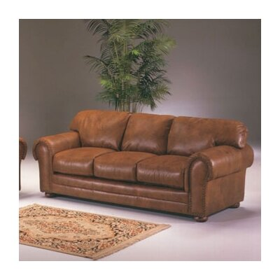 Winchester Cheyenne Leather Loveseat by Omnia Furniture
