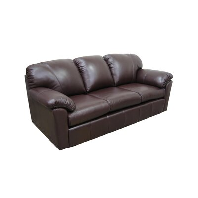 Tahoe Leather Sofa by Omnia Furniture