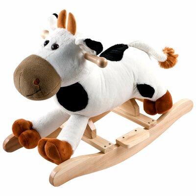 Plush Connie Rocking Cow by Happy Trails
