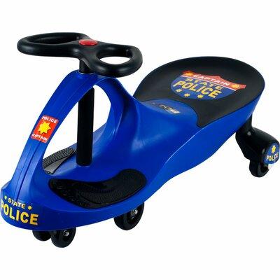 Lil' Rider Wiggle Push Police Car