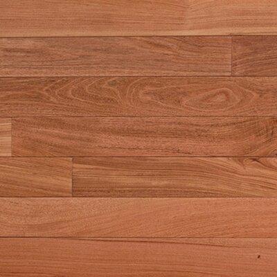 "IndusParquet 3"" Solid Brazilian Rosewood Hardwood Flooring in Natural"
