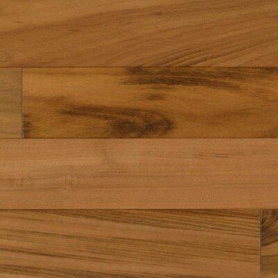 """IndusParquet 6-1/4"""" Engineered Tigerwood Hardwood Flooring in Natural"""