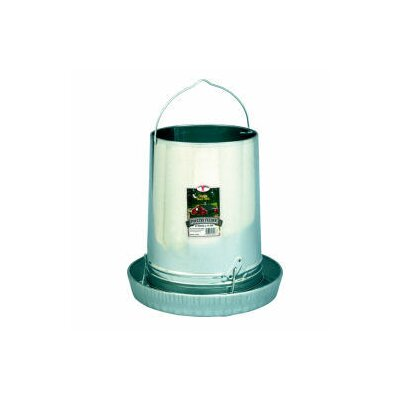 Hanging Poultry Feeder with Pan by Miller Mfg