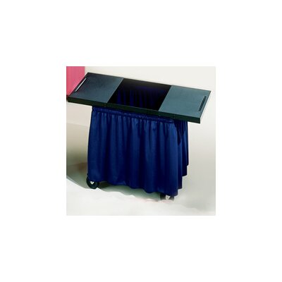 Draper Draper Skirts for Mobile AV Carts and Tables