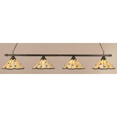 4 Light Pool Table Light by Toltec Lighting