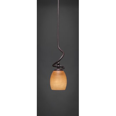 Toltec Lighting Capri Stem Mini Pendant With Hang Straight Swivel