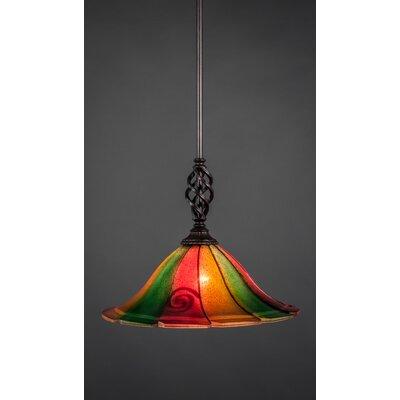 Toltec Lighting Eleganté Mini Pendant With Hang Straight Swivel