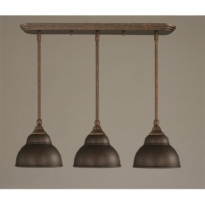 3 Light Multi Light Mini Pendant With Hang Straight Swivels Product Photo