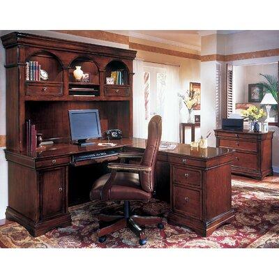 DMI Office Furniture Rue De Lyon 3-Piece L-Shape Executive Desk Office Suite