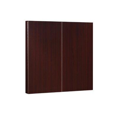 DMI Office Furniture Fairplex Presentation Magnetic Enclosed Whiteboard, 4' x 4'