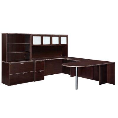Fairplex 4-Piece L-Shape Desk Office Suite by DMI Office Furniture
