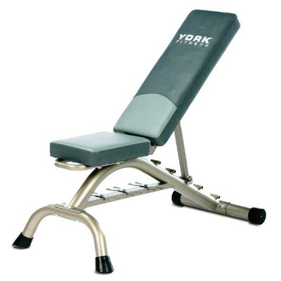 Adjustable Fitness Bench by York Barbell