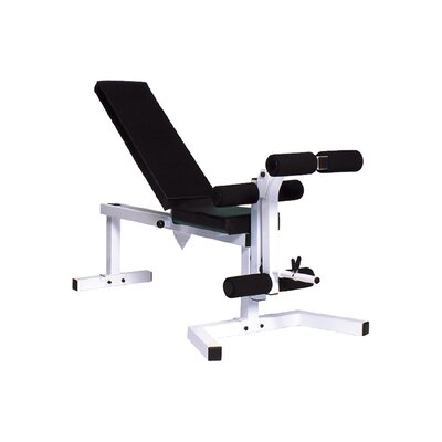 Adjustable Ab Bench by York Barbell