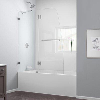 "AquaLux 58"" x  60"" Pivot Hinged Tub Door with Hardware Product Photo"