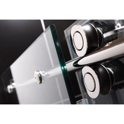 """DreamLine Enigma 79"""" x 60"""" Sliding Fully Frameless Shower Door"""