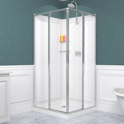 Cornerview Framed Shower Enclosure Product Photo