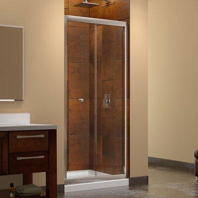 """Butterfly 72"""" x 31.5"""" Pivot Frameless Bi-Fold Shower Door Product Photo"""