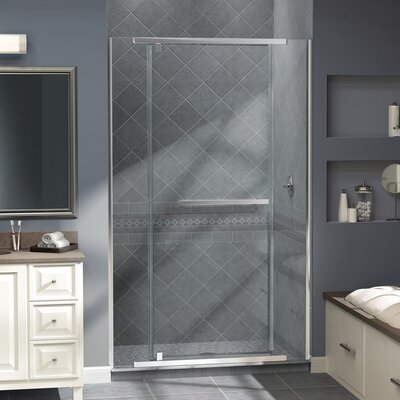 "Vitreo-X 72"" x 46"" Pivot Frameless Shower Door Product Photo"