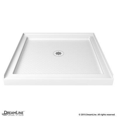 "SlimLine 36"" by 36"" Single Threshold Shower Base Product Photo"
