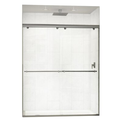 "Charisma 72"" x 60"" Sliding Frameless Shower Door Product Photo"