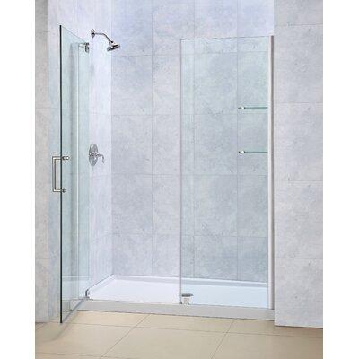 "Elegance 72"" x 44.5"" Pivot Frameless Shower Door Product Photo"