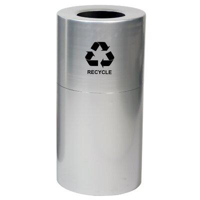 Witt Metal Recycling 35-Gal Industrial Recycling Bin