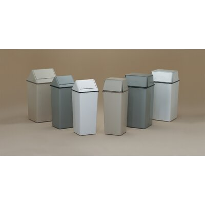 Witt Waste Watchers 36-Gal Metal Series Swing Top Receptacle